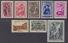 BELGIUM - 1939 Rubens's House Restoration Fund (8v) - MM / MH