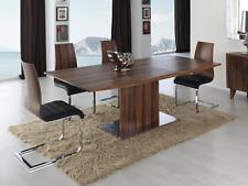 DT-02 Dupen Design Esstisch Dinner ausziehbar Holztisch Walnuss Tisch 160-200 cm