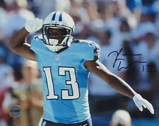 Kendall Wright Tennessee Titans Autographed 8x10 Photo FSG Authenticated
