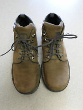 """Timberland """"Trex Travel"""" brown leather, hiking boots, Men's 11"""