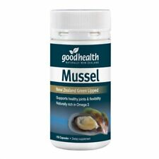 Good Health NEW ZEALAND Green Lipped Mussel  300mg / 1500mg 150 Capsules