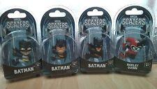 Neca Scalers Batman and Harley Quinn 4pc Set Unopened Original Packaging