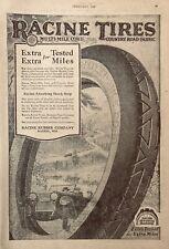 1920 AD.(XF11)~RACINE RUBBER CO. RACINE, WIS. RACINE CORD TIRES