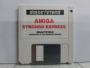 Commodore Amiga Eurosystems Syncro Express v1.5 - nur Diskette - funktioniert