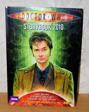 Doctor Who Storybook 2010 BBC Tenth Doctor Hardback Anthology Good+ Condition