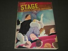 1937 MARCH THE STAGE MAGAZINE - NICE COVER - GREAT PHOTOS & ADS - ST 88