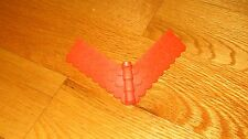 PLAYMOBIL Castle 3666 7109 7145 Corner Red Roof Tile Replacement Piece