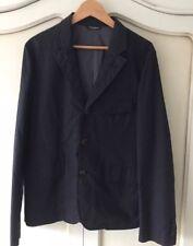 "D & G Mens Tailored Blazer Jacket 38-40"" Chest Eu 50 Black & Micro Spot New"