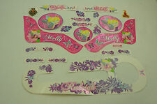 "14"" RALEIGH MOLLY DECAL TRANSFER SET,STICKER PACK SUIT GIRLIE BIKES WTFRM141"