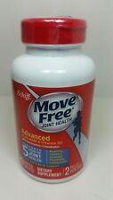 Schiff MOVE FREE ADVANCED MSM Vitamin D3 Glucosamine 80 Tablets Exp 12/17