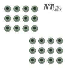 24Pcs Valve Stem Seal Set (6mm) For BMW E34 E36 E39 E46 X5 X3 M52 M54 S52