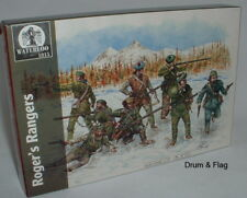 WATERLOO 1815 AP035 ROGER'S RANGERS. FIW. 1/72 SCALE X 30 FIGURES. 10 POSES.