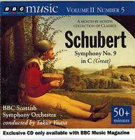 BBC CD - Schubert Symphony No.9 - BBC Scottish SO Yuasa