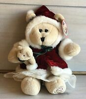 A21 Starbucks Bearista 43rd Christmas Holiday Teddy Plush! Tag 10 Inch Stuffed