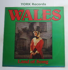 WALES LAND OF SONG - Newport Male Voice Choir - Ex LP Record Stereo Gold Award
