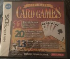 Ultimate Card Games Nintendo DS BRAND NEW FACTORY SEALED