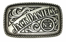 Jack Daniel`s Belt Buckle Old No 7 Brand Western Authentic Officially Licensed