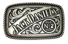 JACK Daniel' s Cintura Fibbia Old No 7 BRAND WESTERN AUTHENTIC licenza ufficiale