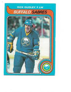 1979-80 O-Pee-Chee #37 Rick Dudley Buffalo Sabres