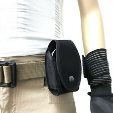 Military Enhance Mold Belt Mounted Security Single Handcuff Pouch Case Black Hot