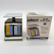 Pelouze X1 Table Desk Mechanical Small Postal Scale Capacity 1 Lb