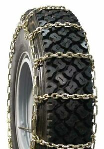 Snow Chains 295/75-22.5 7MM Square Nickel, Chrome, Manganese Alloy Tire Chains,