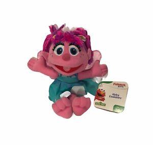 """Sesame Street Plush Abby Cadabby 9"""" Hasbro 2010 New with TAGS MINT Fairy doll"""