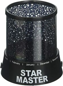 Black Gizmos Star Children Bedroom Projector with 2 built in settings