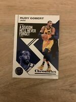 2019-20 Panini NBA Chronicles Rudy Gobert