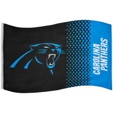 Forever Collectibles Carolina Panthers fade Flag Flagge Fahne NFL