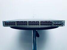 Cisco 3750-X Switch 48 Port Gigabit + 10G Module C3KX-NM-10G - WS-C3750X-48T-S