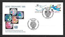 1985 United Nations Geneva first day cover posté Genève datée du 10 mai 1985