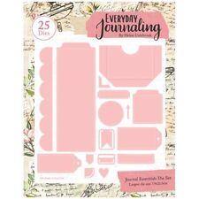 Everyday Journaling Die Set Journal Essentials Set of 25 | Journal Essentials