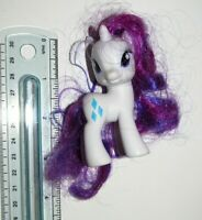 Rarity : G4 2010 Hasbro MLP My Little Pony Brushable Figure