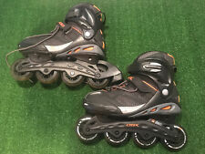 DBX Mens Rollerblades Inline Skates US8 EU41 ABEC7 Motherhip Wheels EXC #Y545