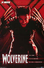 LOT OF 2 POSTERS:MOVIE REPRO : X-MEN  - WOLVERINE      FREE SHIP  #1901  RC34 W