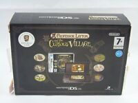 Nintendo DS Lite Professor Layton And The Curious Village Console Boxed Edition