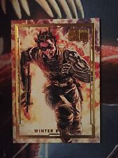 Marvel 75th Limited Gold Edition Card - Winter Soldier by Lee Bermejo 25/75 Comic Art