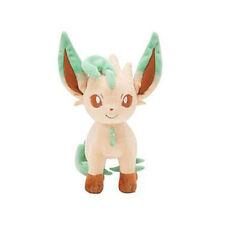 "Pokemon Pocket Monster Leafeon Plush Toys Soft Stuffed Doll 8"""
