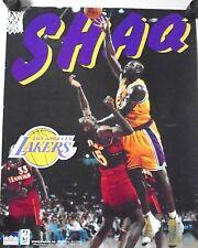 "LA Lakers...SHAQ O'Neil Poster - ""1997""  Starline  / Exc.+ New cond.-16 x 20"""