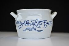 Arabia Finland Ceramic Pottery Handled Bowl / Butter jar Suomi Floral Pattern