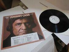 Johnny Cash LP Greatest Hits Volume III 3 PROMO WHITE LABEL EXC