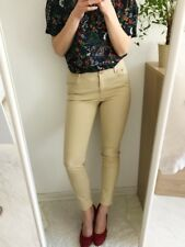 H&M Jeans beige High Waist Röhrenjeans 36 S vintage blogger *top*