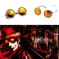 Anime HELLSING Alucard Vampire Hunter Tailored Cosplay Glasses Orange Sunglasses