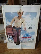 JUNIOR BONNER, orig 1-sh / movie poster [Steve McQueen] - 1972 / Sam Peckinpah