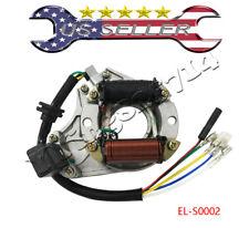 ATV Quad Stator Ignition Magneto Plate 50 110 125cc 2 Coil Chinese Taotao Sunl