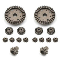 16pc/set 30T 24T 12T Differential Driving Gears for Wltoys 12428 12429 RC CarQA