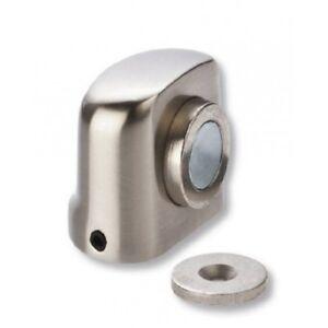 REI Brushed Nickel Magnetic Floor Mounted Door Stopper Buffer