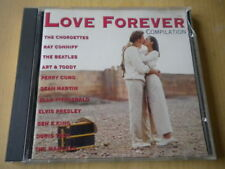 Love forever compilation	CD	pop rock Beatles Elvis Presley Perry Como Fitzgerald