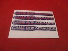 Set of 4 Nintendo Game Boy Advance Console Promotional Store Display Stickers